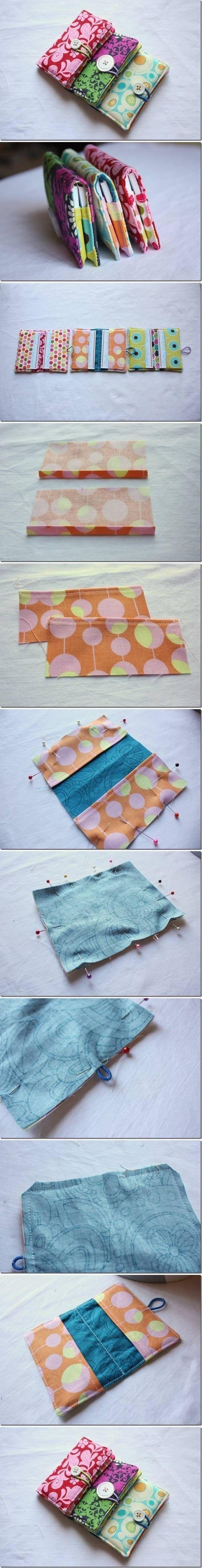DIY Sew Business Card Holder Pictures, Photos, and Images for Facebook, Tumblr, Pinterest, and Twitter #handbagdiy #diyhandbag