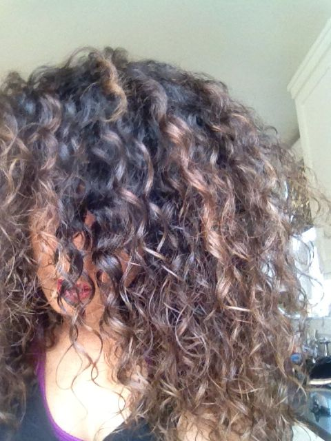 Naturally Curly Hair Balayage Hair Painting Ombr 233 The