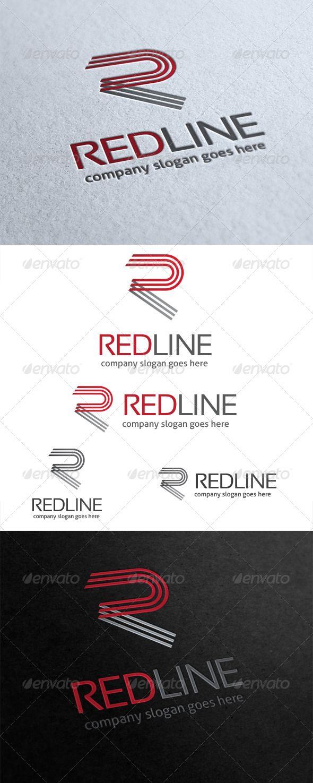 Red Line Letter R Logo 43 best