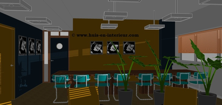 "Winning Interior Design meeting space ""The Loft"" Seats2meet Utrecht made by Marcella Vermeer and Huis & Interieur"