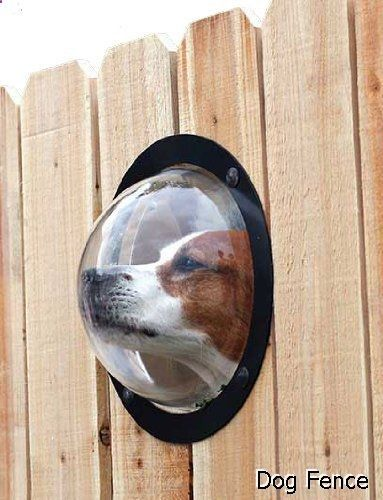 Dog Fence - PetPeek Fence Window for Pets