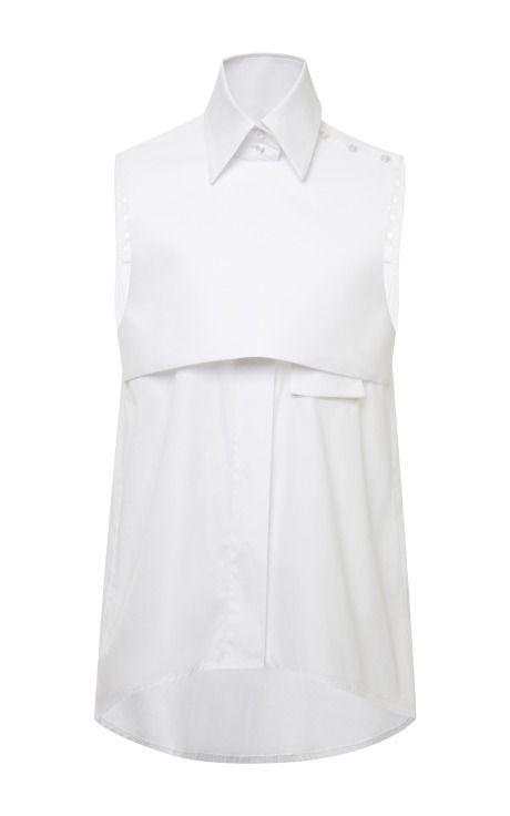 White Danube Shirt by Ellery - Moda Operandi
