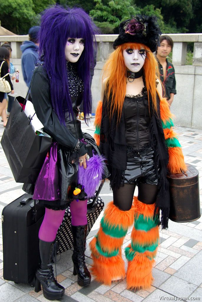 Harajuku - Um, just WHY? I've lived there and still never really got it. Creativity, expressionism is one thing, this level is kinda like whaaaaa??????