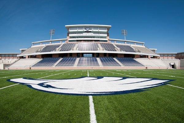 HSstadium - 60 million dollar Allen High School Football Stadium, yep that's Texas
