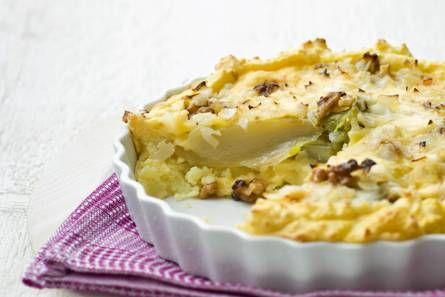 Aardappel-witloftaart - Recept - Allerhande - Albert Heijn