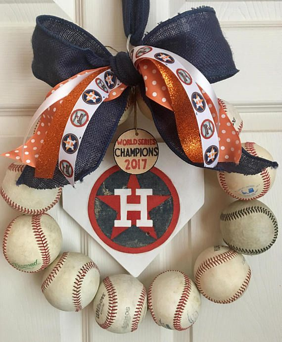 Houston Astros World Series Champions 2017 Wreath