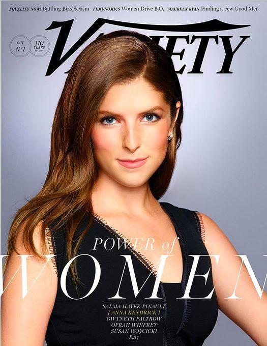 Variety Magazine October 6, 2015 - Anna Kendrick Cover - Also Winfrey & Paltrow