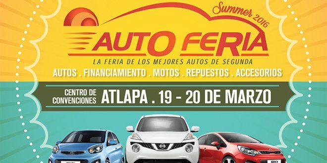 Feria de Autos usados en Atlapa 19 y 20 de marzo | A Son De Salsa