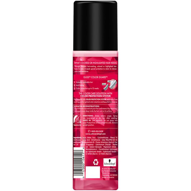I love this product. It sprays nicely and doesn't leave a sticky mess if it sprays elsewhere. It is not oil based from what I can tell. It leaves my hair softer and I can take this to the pool!