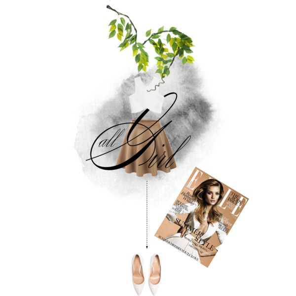 """Nude ♡"" by essenceve on Polyvore"