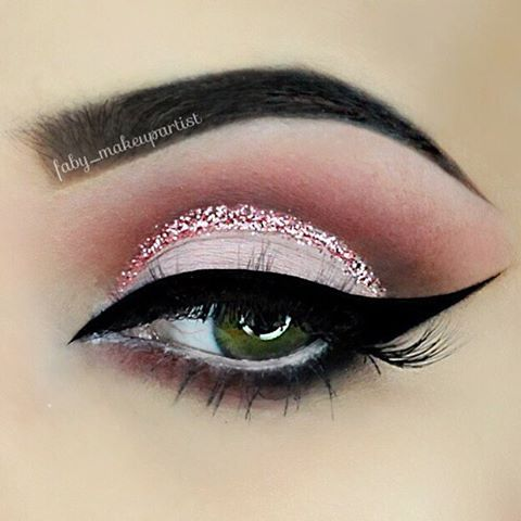 Pretty!  @faby_makeupartist | #makeup
