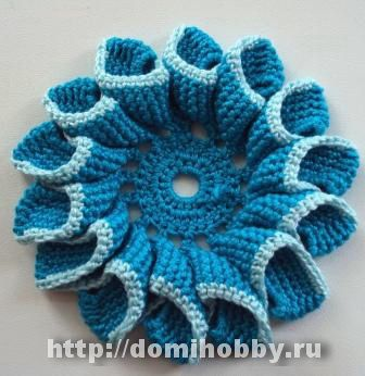 Russian chart: Crochet Flowers, Flowers Crochet, Russian Flowers, Color, Pretty Flowers, Flower Crochet
