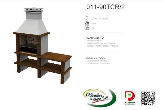 Churrasqueira Modelo  011-90TCR/2