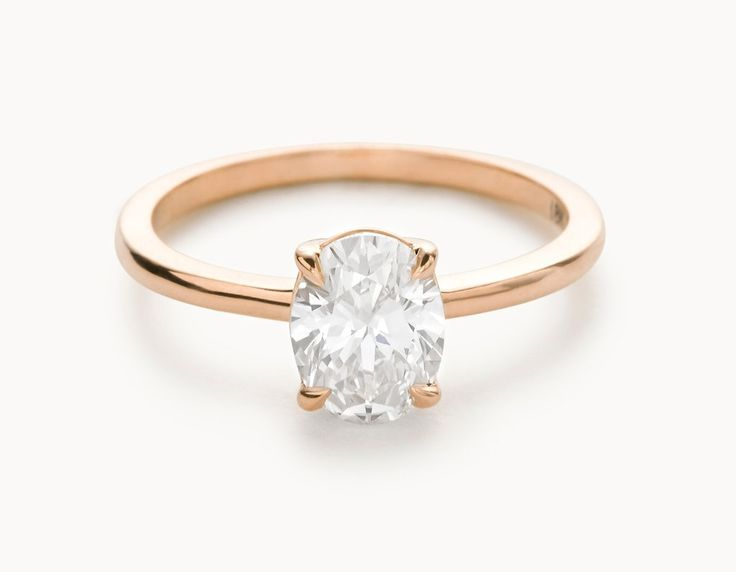 The Oval VOW Modern Engagement Rings Pinterest