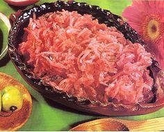 Salsa de rábanos. Receta mexicana de Yucatán