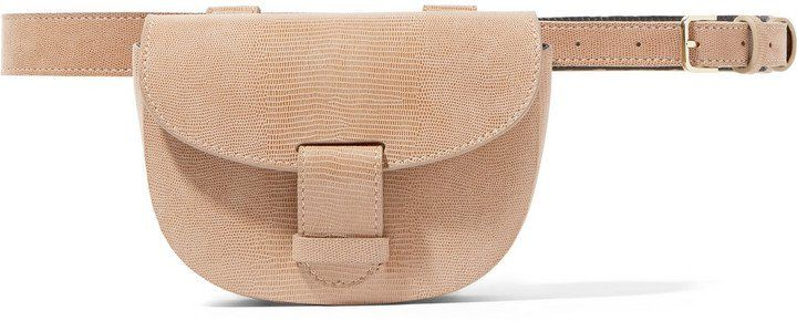 Pin for Later: These Beauties Will Change the Way You Think About Bum Bags NewbarK Eva Large Lizard-Effect Leather Belt Bag NewbarK Eva Large Lizard-Effect Leather Belt Bag (£980)