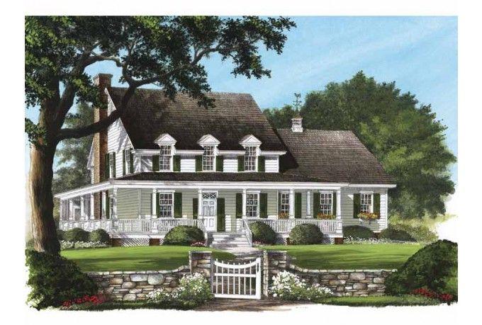 Eplans Farmhouse House Plan Fieldstone Farm 2842