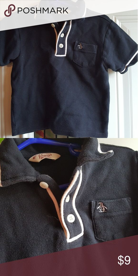 Penguin polo baby boy 18m Penguin brand Polo baby boy  18m Navy with white trim penguin Shirts & Tops Polos