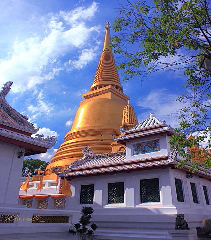 Wat Bowonniwet Vihara, Bangkok, Thailand.