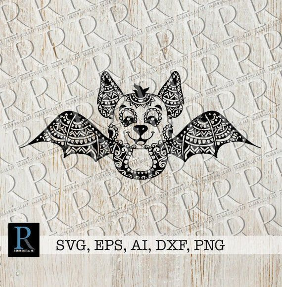 Halloween Fledermaus Svg Zentangle Fledermaus Svg Mandala Halloween Svg Design Animals Stamps Ausmalbilder Mandala Mandala Malvorlagen Zentangle