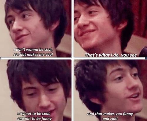 Awh Alex, his logic is perfect!