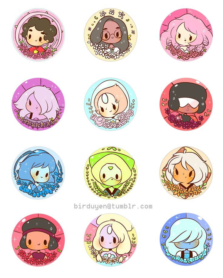 steven universe buttons for your steven universe needs!!! order them while you watch the new episode on June 15th!!!!!  buttons are 1.5':