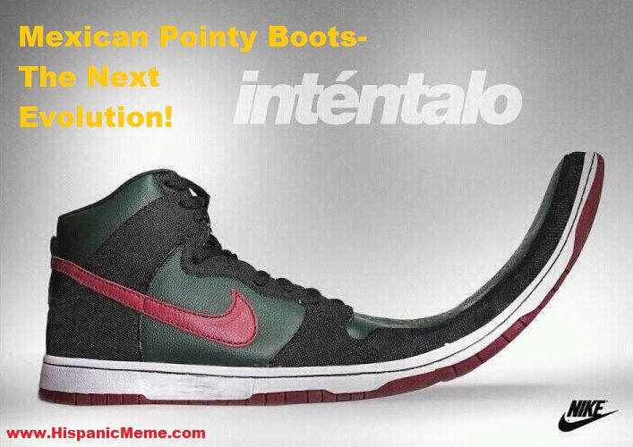 Nike Mexican pointy bo...