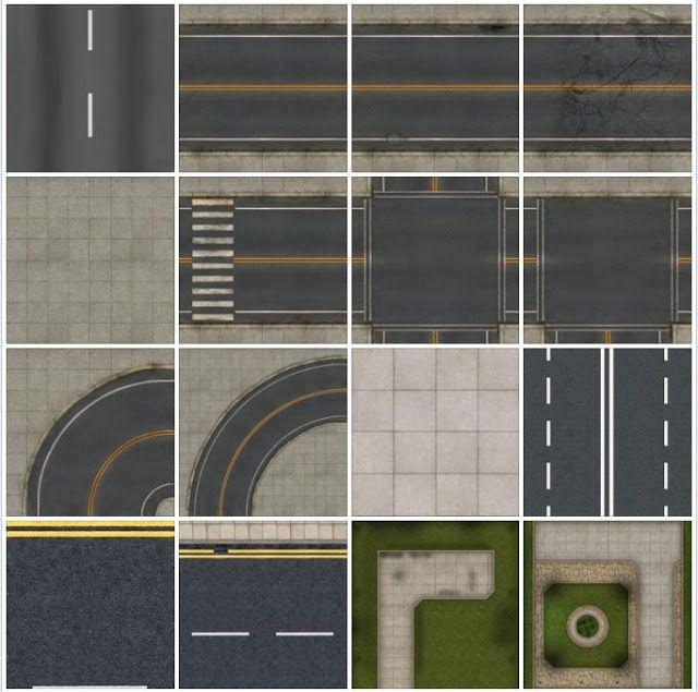 seamless-texture-asphalt-road #1