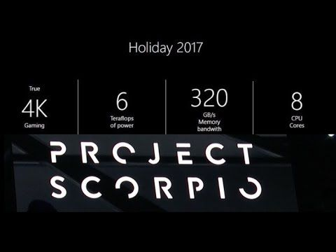 Xbox Project Scorpio Games & 4K Display Support According to Michael Pac...
