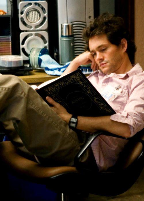 Hugh Dancy, Grigg - The Jane Austen Book Club directed by Robin Swicord (2007) Novel by Karen Joy Fowler #janeausten #karenjoyfowler