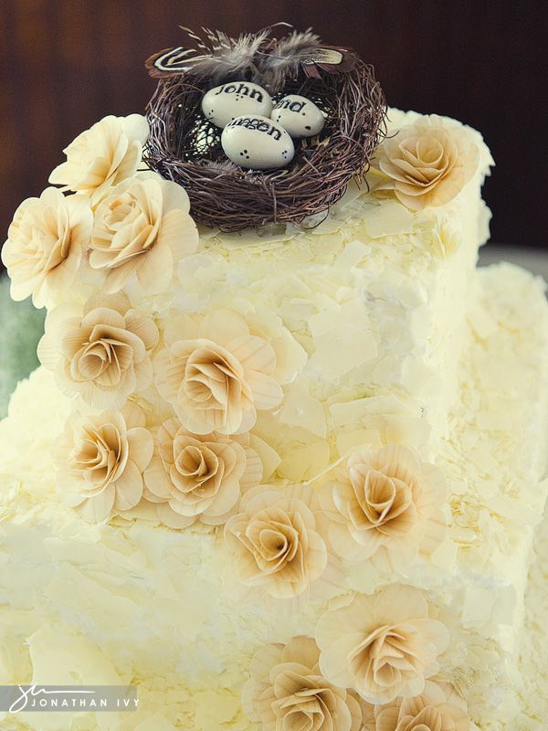 country chic wedding cake toppers country chic wedding cake with handmade paper rosettes and 12978