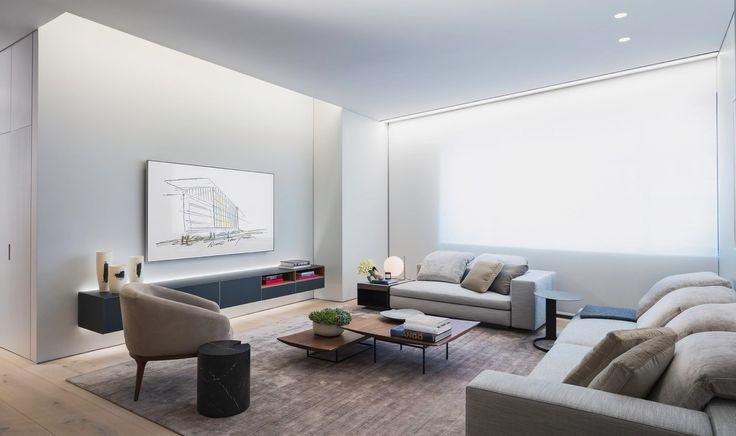 Роскошная квартира в доме от Тадао Андо в Нью-Йорке — HQROOM