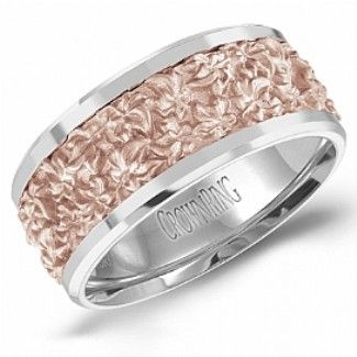 Crown Ring - Collections Wedding Bands Handwoven Hw 6111rw M10