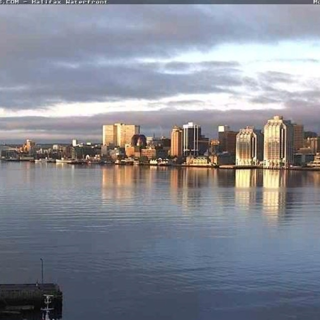Halifax - view from across the harbour in Dartmouth