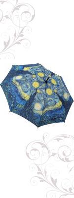 Van Gogh Umbrella: Galleria Starry, Gogh Umbrellas, Gogh Starry, Night Sticks, Starry Night, Vans Gogh, Night Umbrellas, Sticks Umbrellas, Folding Umbrellas