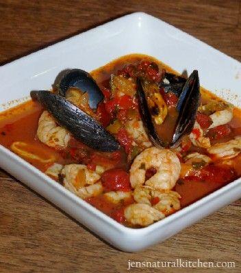 paleo italian seafood stew ciopinno - Fish Stew Ina Garten