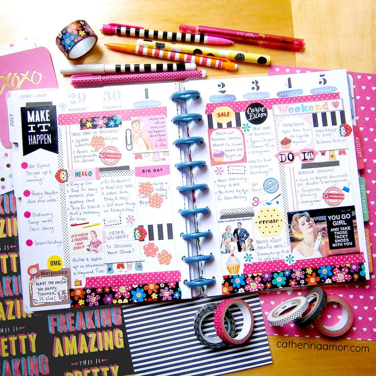Trendspotting: the Planner Craze - Run To Radiance