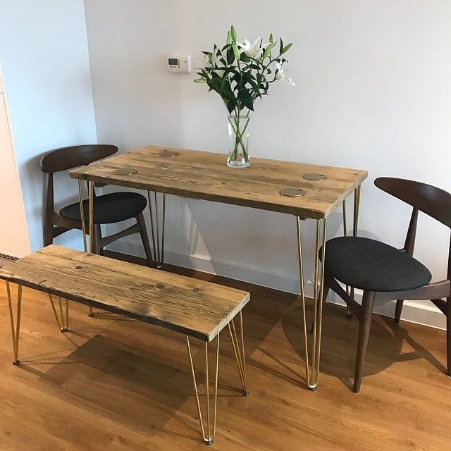 38++ Small reclaimed wood dining table Best Seller