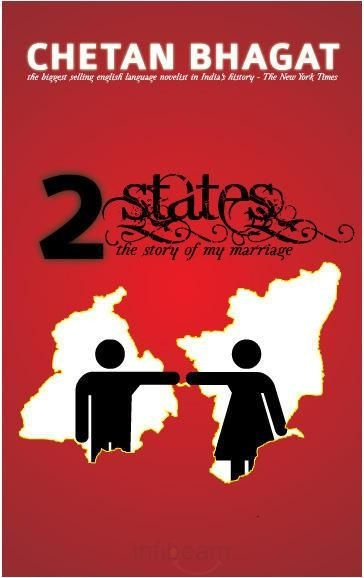 2 States by  Chetan Bhagat. My all time favorite CB novel! Light hearted and sweet