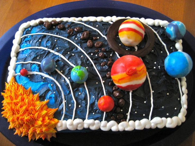 25 best ideas about solar system cake on pinterest for What is outer space made of