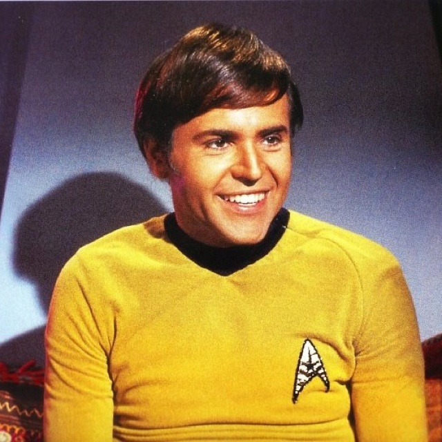 Star Trek Original Series...Walter Marvin Königsberg...name shortened to Walter Marvin Koenig as  Ensign Pavel Chekov, Navigator