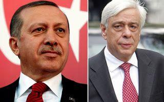 Τηλεφωνική επικοινωνία με τον Τούρκο Πρόεδρο Ταγίπ Ερντογάν είχε στις 13.30 ο Έλληνας Πρόεδρος της Δημοκρατίας Προκόπης Παυλόπουλος.