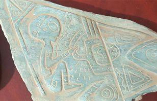 ¿Aborígenes americanos con aliens? Descubren piedras talladas con alucinantes escenas | Ovnis