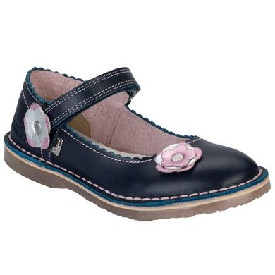 Children Girls Adlar Bar Trim 2 Shoes