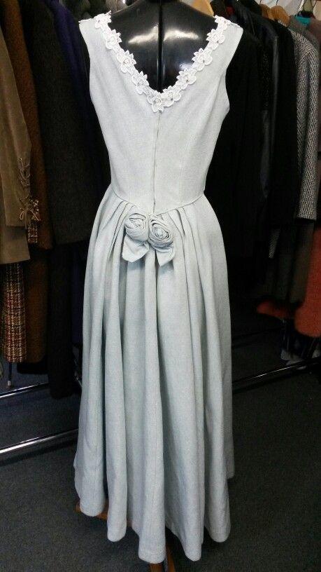 1960 evening dress rear