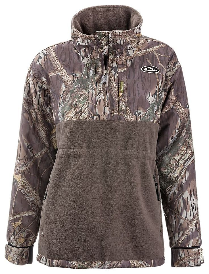 Drake Waterfowl Systems Lady Drake MST Eqwader Plus 1/4 Zip Pullover for Ladies | Bass Pro Shops: The Best Hunting, Fishing, Camping & Outdoor Gear