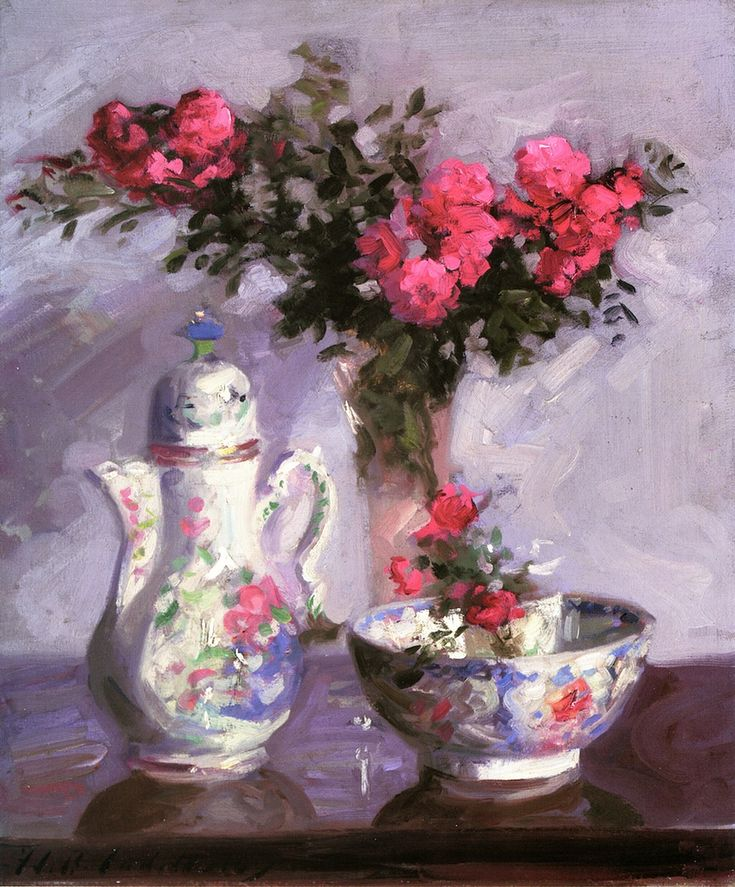 The Famille Rose Coffee Pot , by Cadell