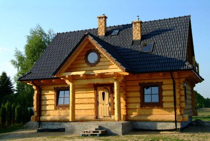 Dom domy z bali z bala ręcznie ciosanych (5004938235) - Allegro.pl - Więcej niż aukcje.