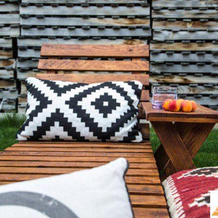 tumbona palets, muebles de palets