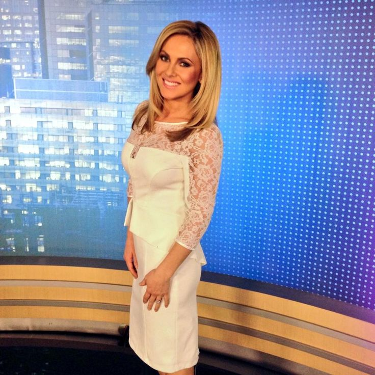 Angela Tsun from Channel 7 Perth News in Montique #fashion #style #news #montique